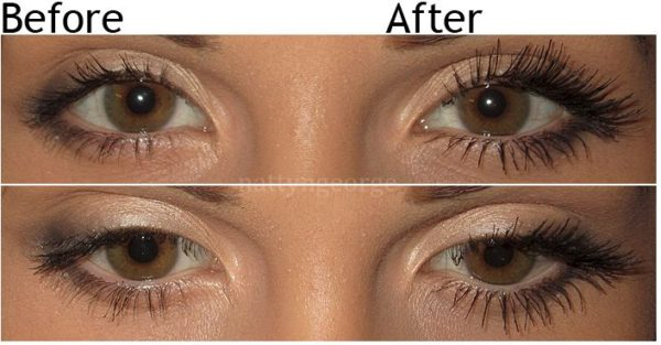 Dear beauty - Individual eyelash extension before/after