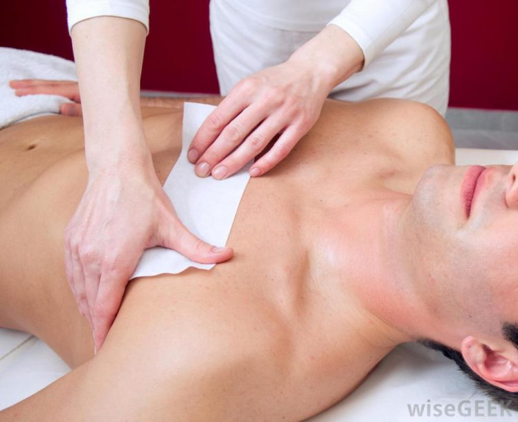 man-getting-his-chest-waxed